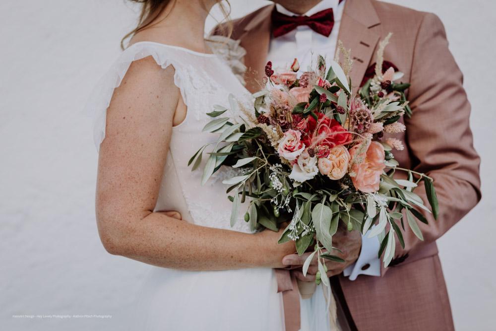 HeimArt Design Papeterie Mohnblumen Chiemsee Hochzeit